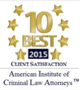 10 Best in Client Satisfaction 2015