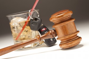 Gavel, Alcoholic Drink Car Keys Nashville DUI Lawyer