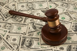 gavel stack of money Nashville Criminal Defense Attorney